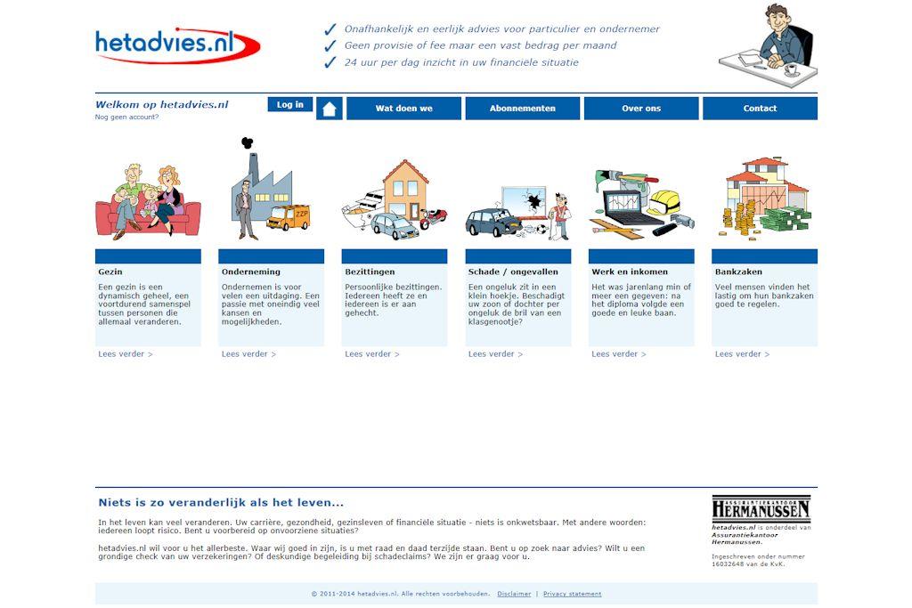hetadvies.nl - Website